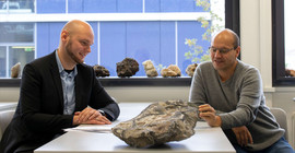 Dr. Maximilian Korges and Prof. Dr. Max Wilke | Photo: Sandra Scholz