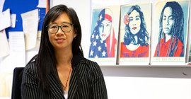 Linda Juang's office shows the diversity of American society | Photo: Sandra Scholz