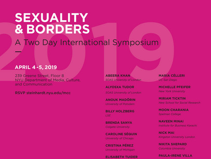 Sexuality and Borders Symposium
