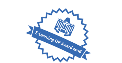 E-Learning UP Award 2016