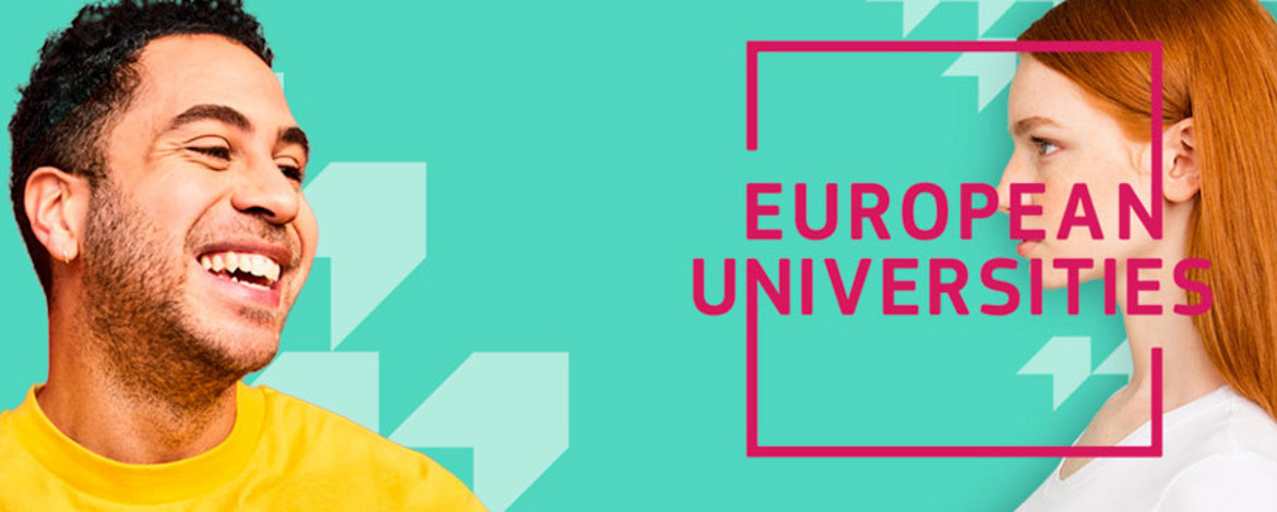 Banner of the European University Initiative of the European Commission