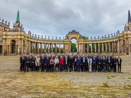 Participants of the Chancellor's Annual Conference at the University of Potsdam