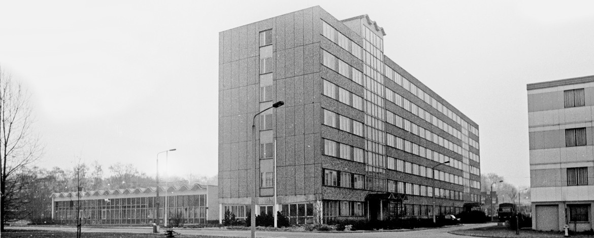 New building for the Academy of Law for the Ministry of State Security in Potsdam, 1989