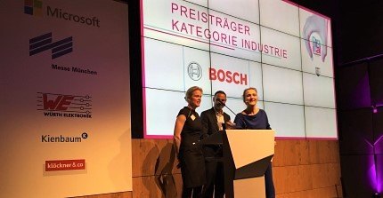 Preisverleihung 'Digital Transformer of the Year 2017'