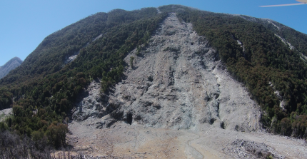 Landslide in Chile (credits by C.H. Mohr)