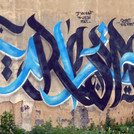 "Graffiti, Tunis. ""If you want to live in peace… Respect to be respected."""