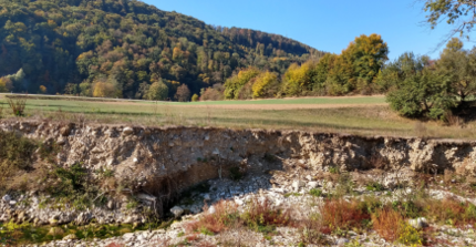 Geophysical investigations of debris flows