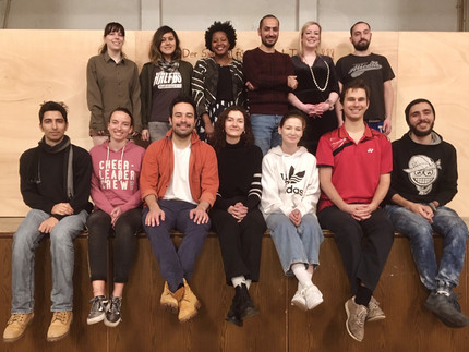 Ensemble des Integrationstheaterprojektes