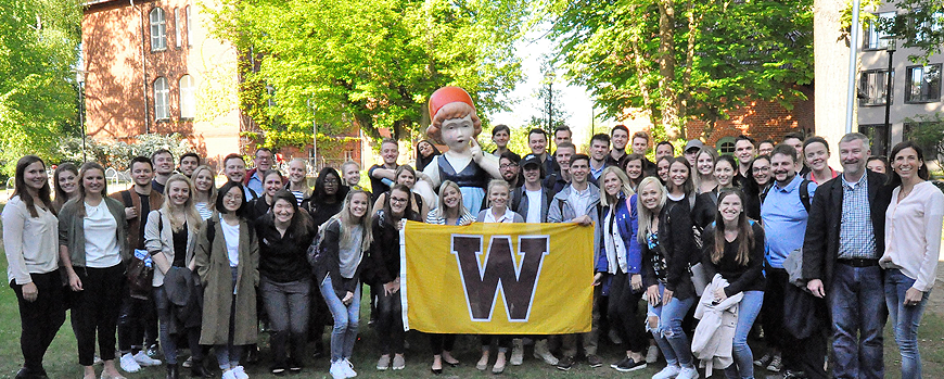 Western Michigan University zu Gast in Potsdam