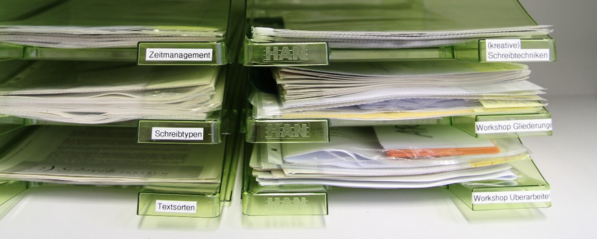 Image of an office filing system