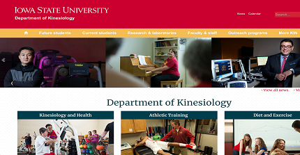 Department of Kinesiology