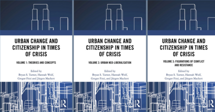 "Cover ""Urban Change and Citizenship in Times of Crisis"""