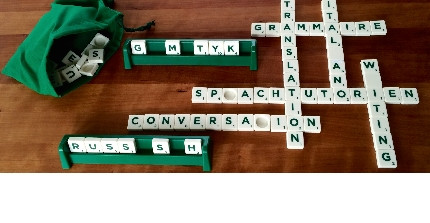 image: Scrabble game