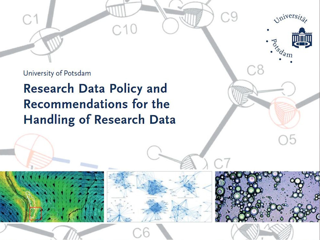 Handling research data at the University of Potsdam - policy and recommendations.