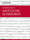 Cover Symmachus - relationes