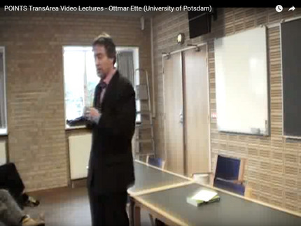 "Video Lecture ""National Philologies, Globalization and TransArea Studies"""