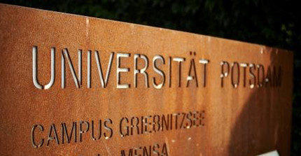 University of Potsdam Sign