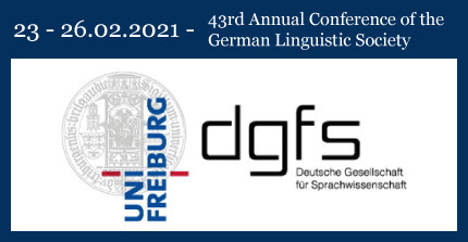 43rd Annual Conference of the German Linguistic Society