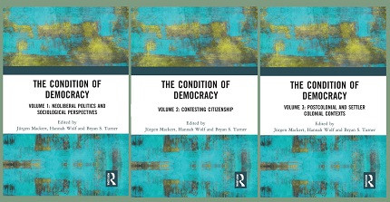 "Cover ""The Condition of Democracy"""