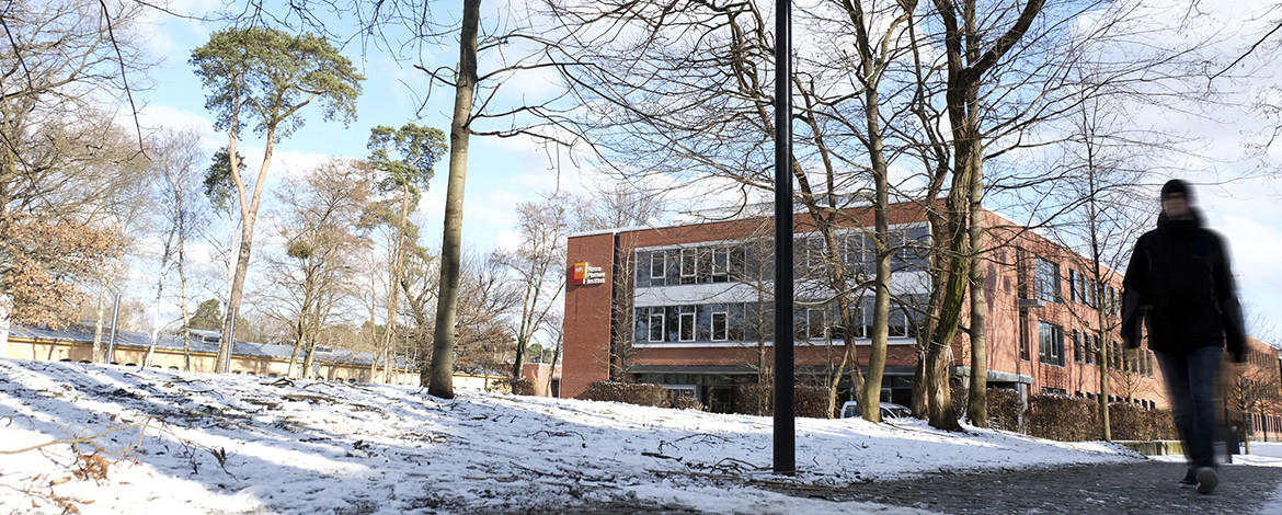 Campus Griebnitzsee im Winter