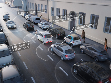 Car network with sensors