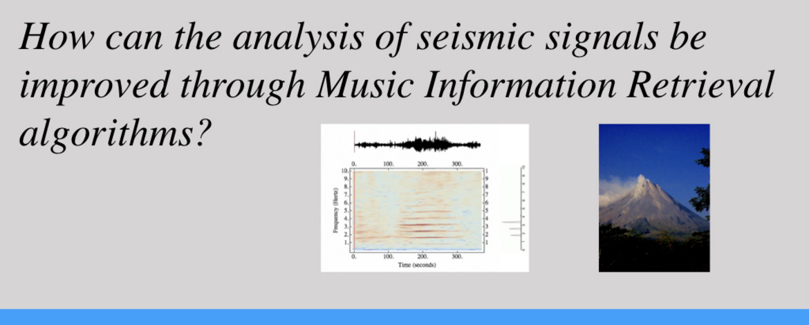 How can the analysis of seismic signals benefit from Music Information Retrieval (MIR) research?