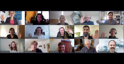 Participants of the online kick-off meeting
