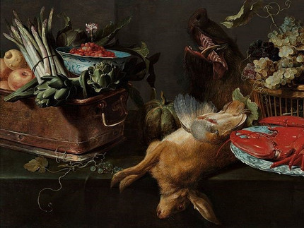 Franz Snyders: Kitchen Still Life