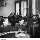 Weapons training at the Academy of the Ministry for State Security, 1957. Photo: BStU, MfS HA IX / Fo / 1413 (Photo 50).