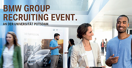 BMW GROUP Recruiting Event an der Universität Potsdam