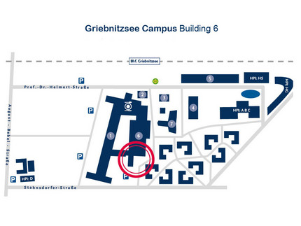 Griebnitzsee map, building 6